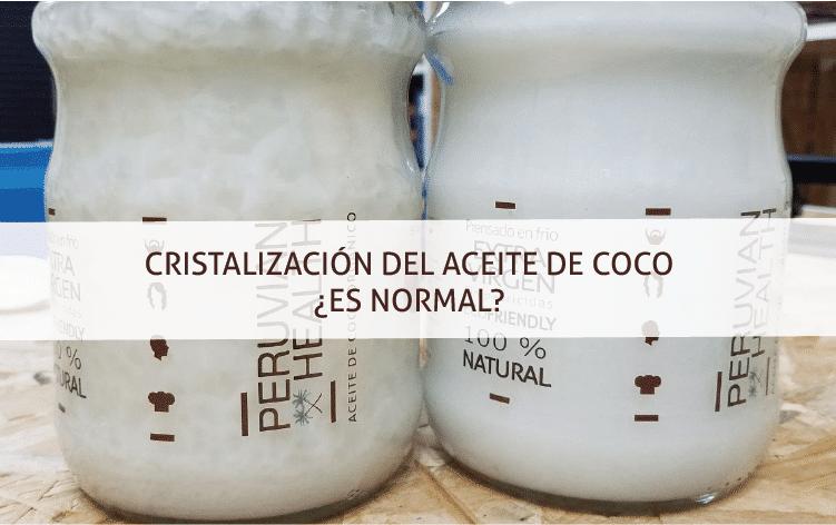 Por qué el aceite de coco virgen se cristaliza y se