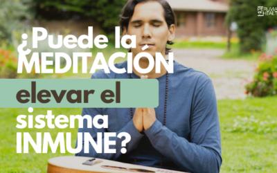 ¿Puede la meditación elevar el sistema Inmune?